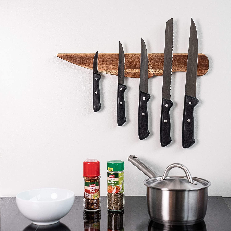40cm Wandmesserhalter Selbstklebender magnetischer Messerhalter Küchenwerkzeug